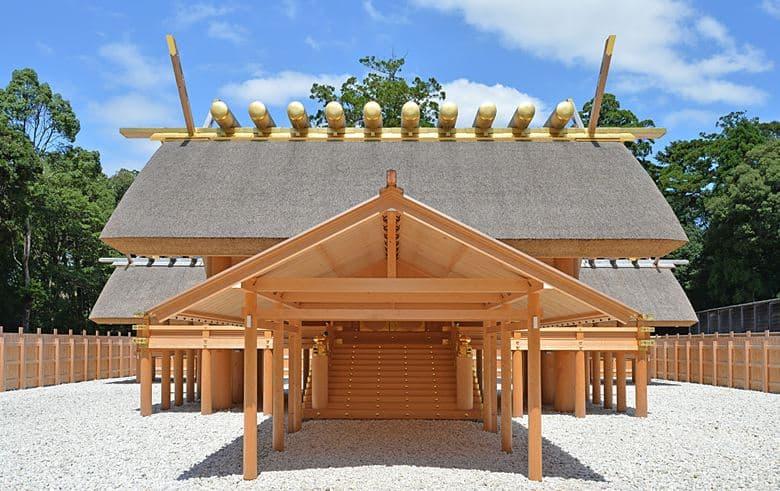 Shogu - Main palace of Naiku (not open to public)