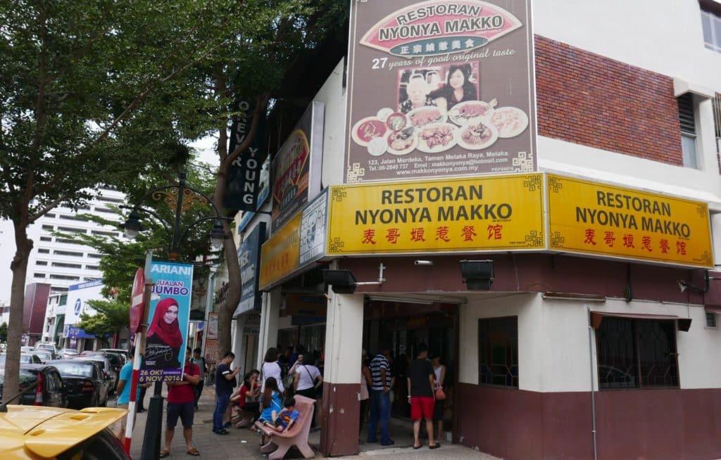 Long queue at Nonya Makko