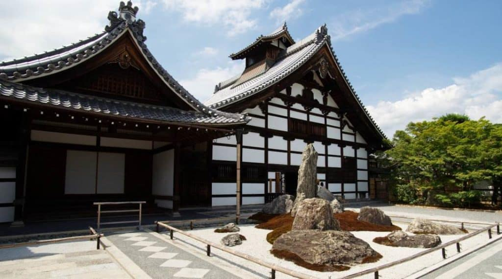 Tenryu-ji Temple Main Hall