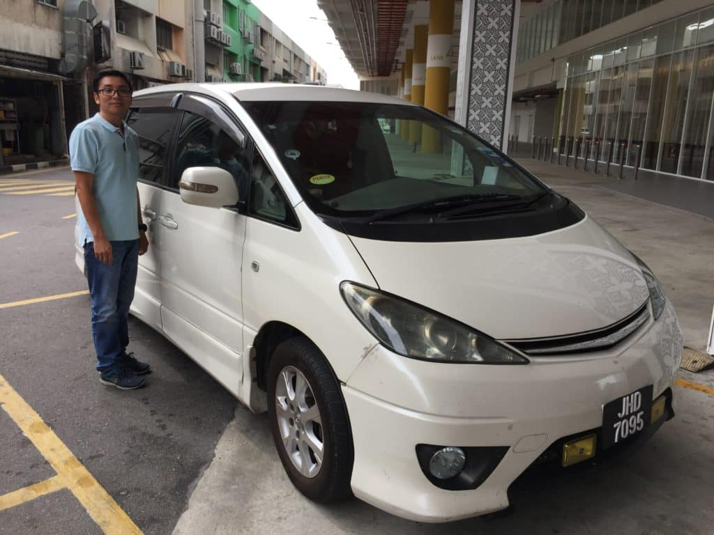 Terry and his MPV