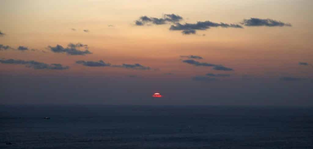 sunrise at seongsan ilchulbong