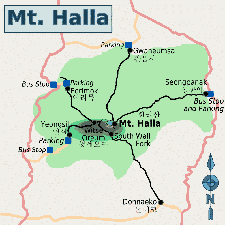 Hallasan-Trails