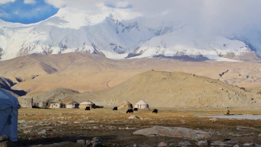 Karakul Lake - Yurts