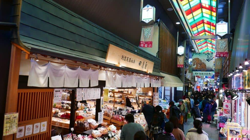 The 400-year old Nishiki Market