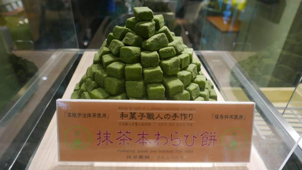 Mochi rice cakes - Nishiki Market