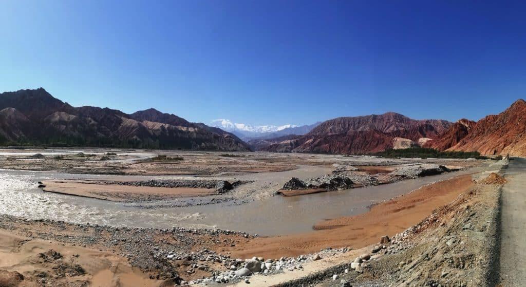 Pamir Landscape to Karakul