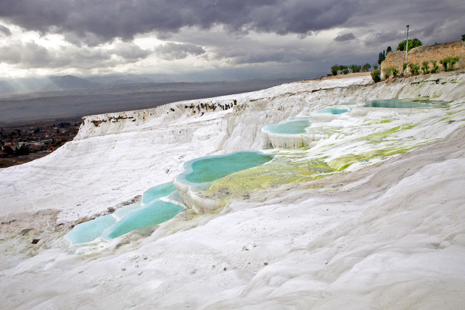 Cotton Castles of Pamukkale, Turkey