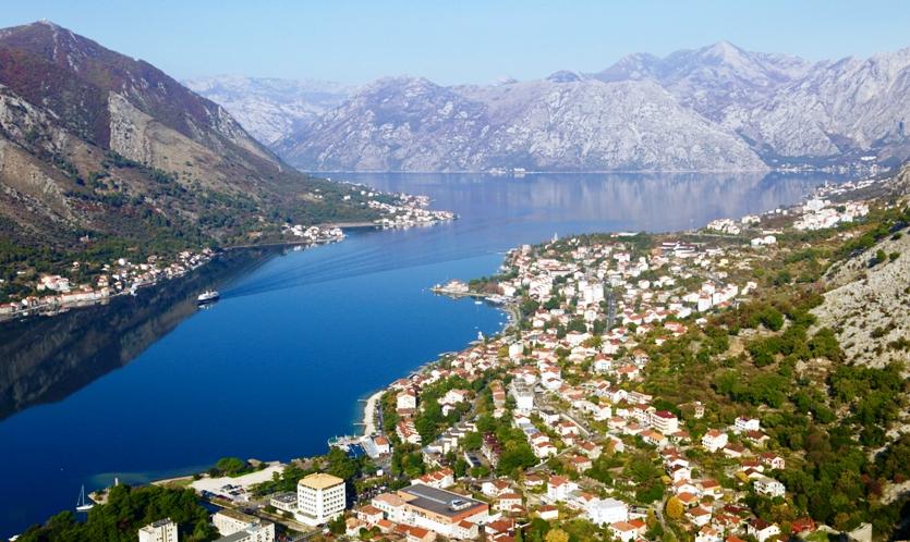 View Of Kotor Bay