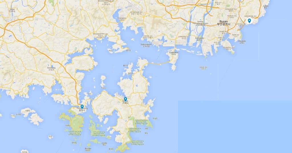 From Busan to Geoje and Tongyeong