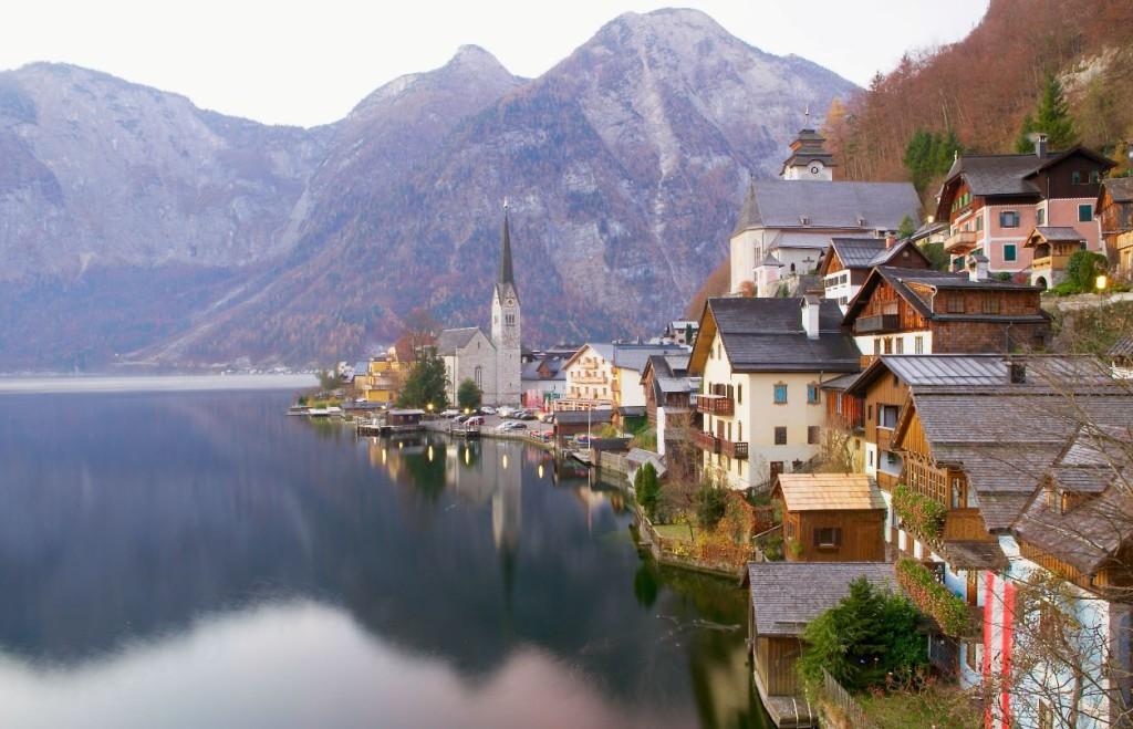 Picture Postcard Halstatt