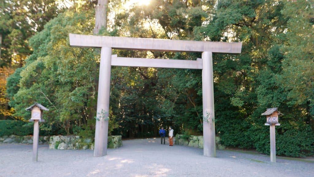 Ise Jingu Geku Torii Gate