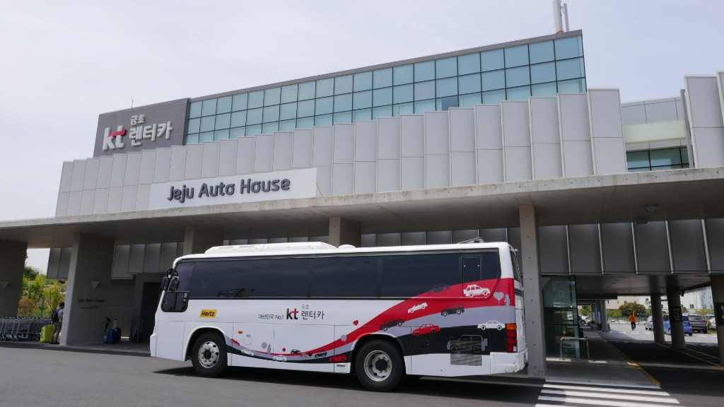 Jeju Autohouse car rental pickup