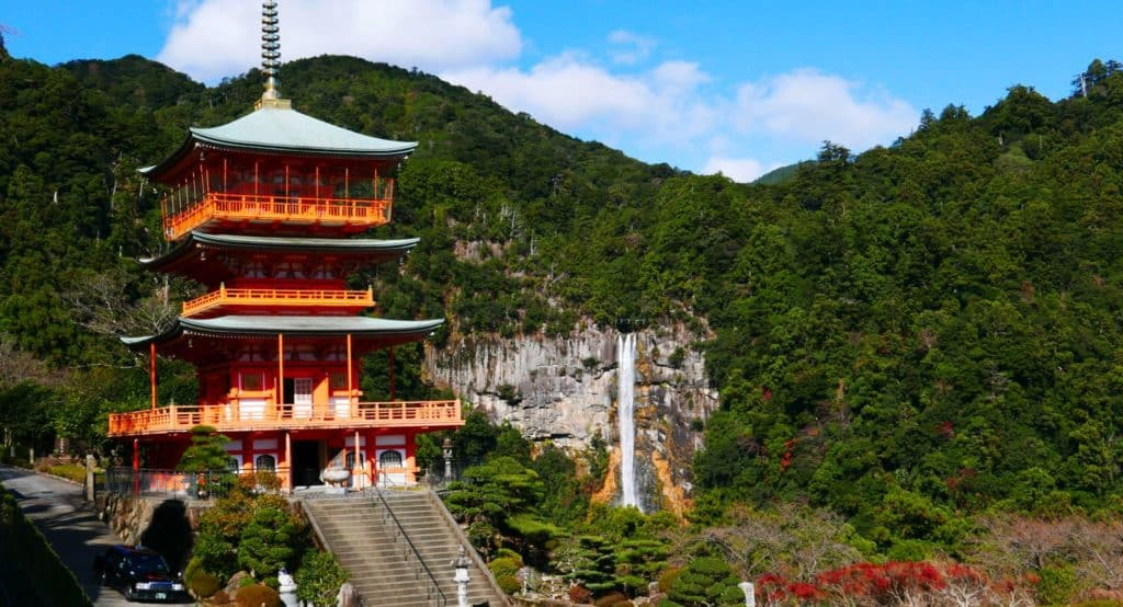 3-storey Pagoda and Nachi Falls