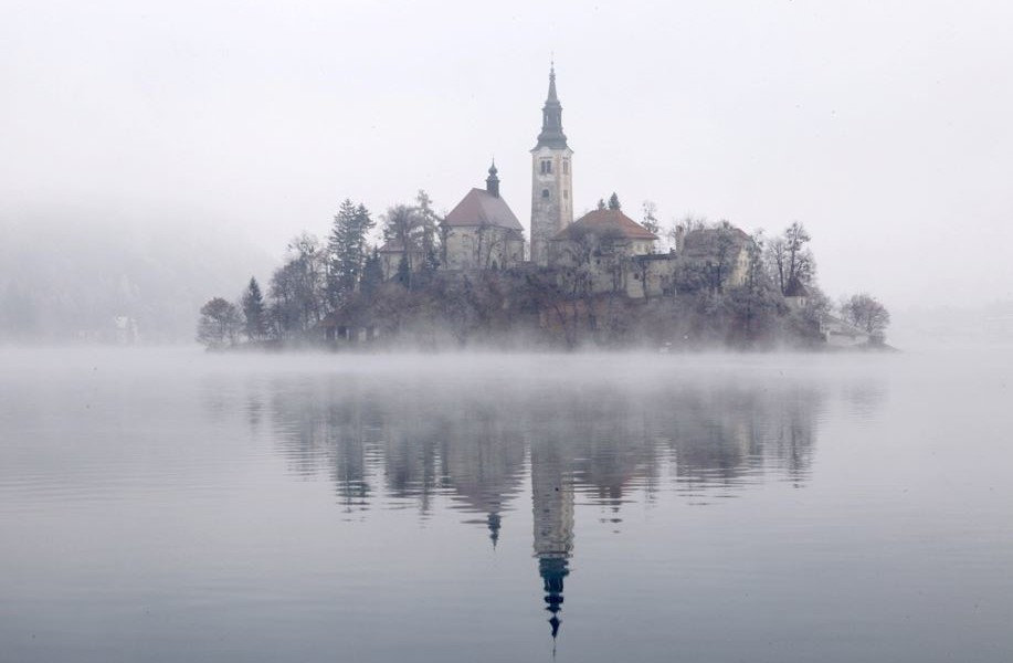 Church of Sv Marika Bozja on Bled Island