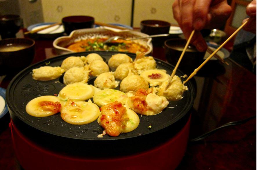 Kimchi Takoyaki Balls