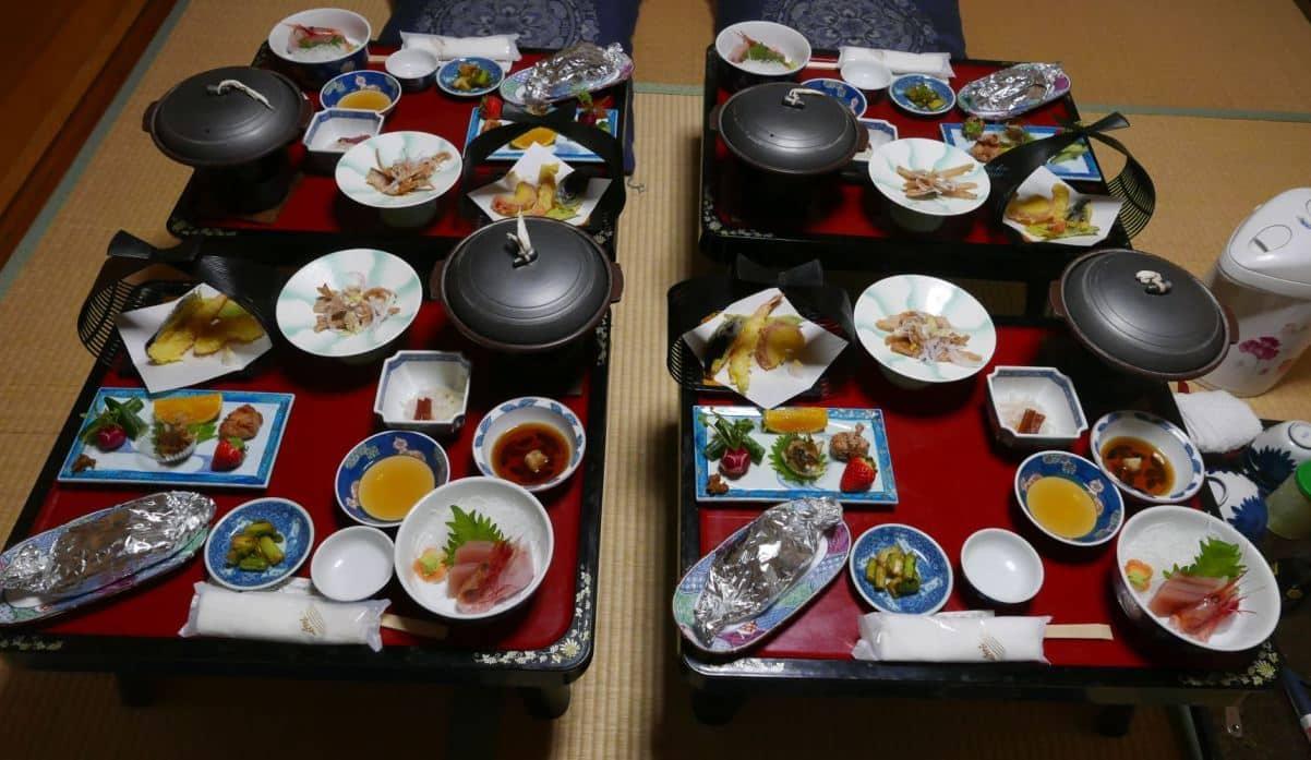 10 course Kaiseki dinner