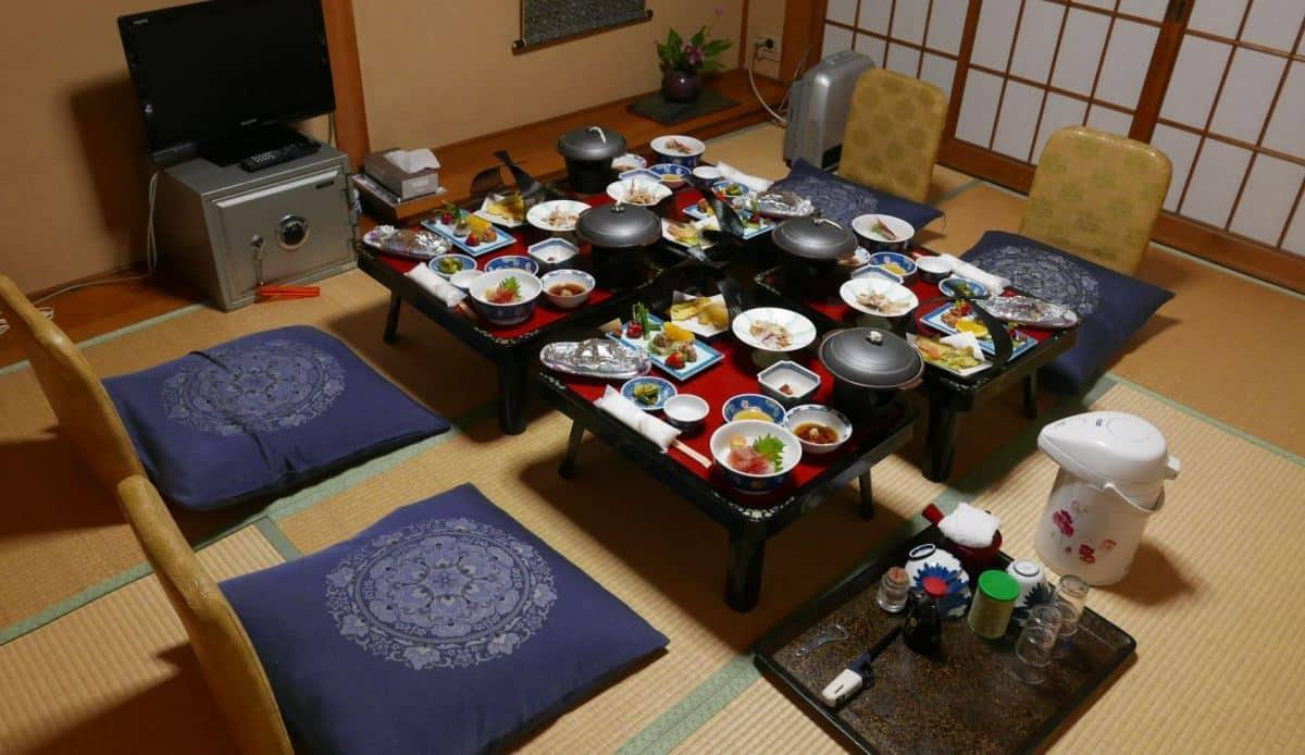 Dinner in private room